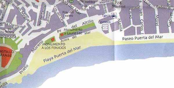 Almunecar Spain Map.Almunecar Map Of Almunecar Citiestips Com