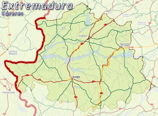 Mapa De Caceres Mapa Caceres Caceres Mapa Mapa Provincia