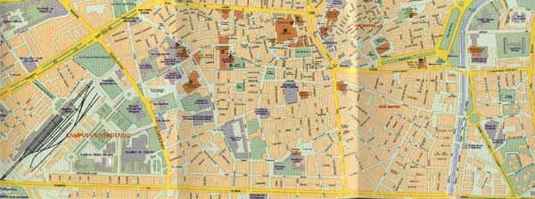 Callejero Mapa De Malaga Capital.Callejero Granada Callejero De Granada Granada Callejero
