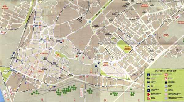Huelva Spain  city pictures gallery : Map of Huelva map for planning your holiday in huelva, Huelva spain