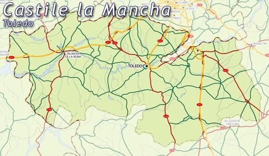 Mapa Provincia Toledo Carreteras.Mapa De Toledo Toledo Mapa Mapa Provincia Toledo Mapa