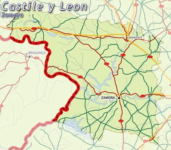 Mapa De Zamora Provincia.Mapa Zamora Mapa De Zamora Zamora Mapa Mapa Provincia