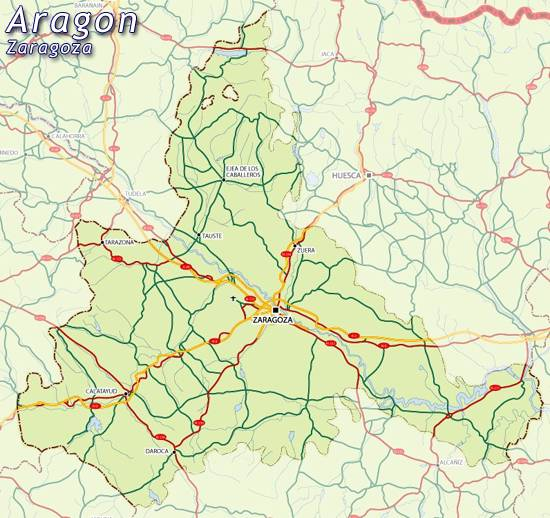 Mapa Provincia De Zaragoza.Mapa Zaragoza Mapa De Zaragoza Zaragoza Mapa Mapa